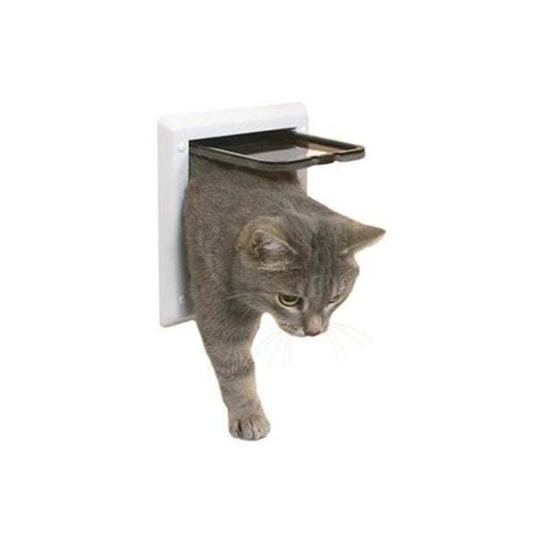 Outdoor Run Doors 2 Way Plastic Cat Flap Free Shipping On Orders Over 45 23301728