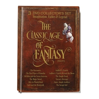 The Classic Age Of Fantasy 1938-1974: Story Retellings Dvd