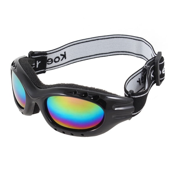 e58ae12ea0f Shop Snowboard Cycling Outdoor Protective Glasses Anti Fog Wind Ski Goggles  Black - Free Shipping On Orders Over  45 - Overstock - 17604232
