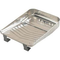 9in. Bright Metal Paint Tray