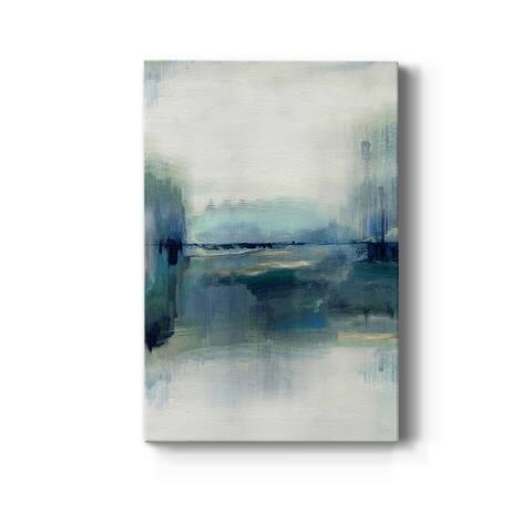 Indigo Meadow Premium Gallery Wrapped Canvas - Ready to Hang