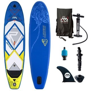 "Aqua Marina Beast Inflatable Stand-up Paddle Board & Acc. 10-6"" L x 36"" W x 6"" D"