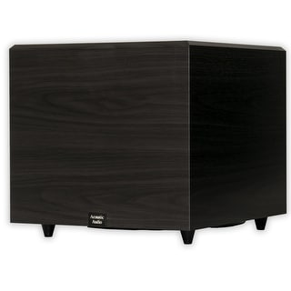 "Acoustic Audio RWSUB15 Home Theater Powered 15"" Subwoofer Black Down Firing Sub"
