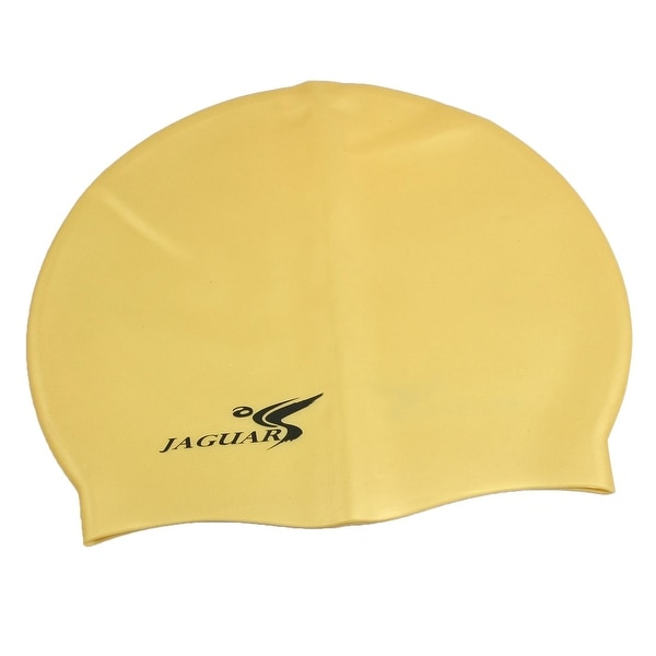 5799876d61d Unique Bargains Unique Bargains Swimming Sports Dome Shaped Stretchy Silicone  Hat Swim Cap for Adult