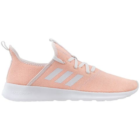 adidas Cloudfoam Pure Lace Up Womens Sneakers Shoes Casual -