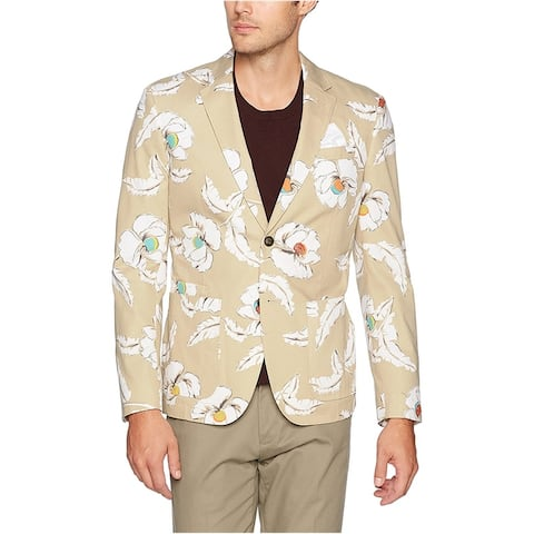 Jack Spade Mens Poppy Flower Sport Coat