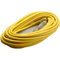 Coleman Cable 01488 Polar/Solar Outdoor Extension Cord, 50'