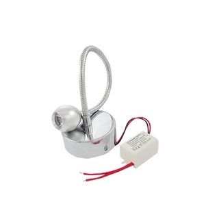 Unique Bargains Adjustable Angle 3W 6000K LED White Lamp Spotlight Bulb