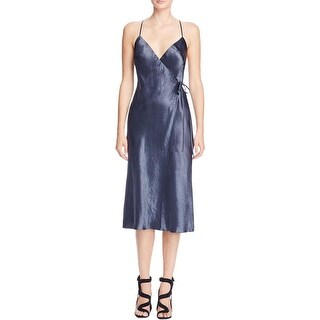 ABS Collection Womens Slip Dress Satin Wrap