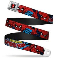Marvel Comics Spider Man Full Color Amazing Spider Man Webbing Seatbelt Seatbelt Belt