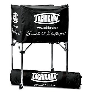 Tachikara BIKSP Collapsible Volleyball Cart (Black)
