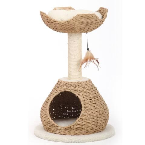 PetPals Walk Up - BGE, 2 LVL, CAT TREE W/Condo & Perch