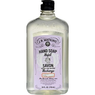 J.R. Watkins - Liquid Hand Soap Lavender - Refill ( 3 - 24 FZ)