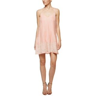 Sanctuary Reese Embroidered Slip Dress Blossom