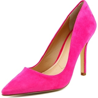 Charles By Charles David Sweetness Women Pointed Toe Suede Pink Heels