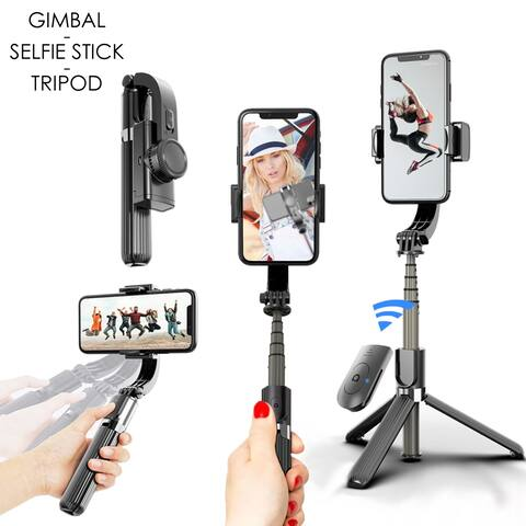 NEW SmartPhone StableShot Handheld Gimbal Stabilizer, Tripod, and Selfie Stick for SmartPhones (iPhone & Android) Portable