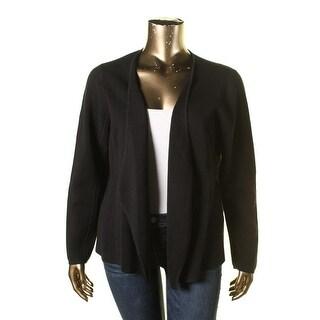 Eileen Fisher Womens Plus Woman Silk Knit Jacket