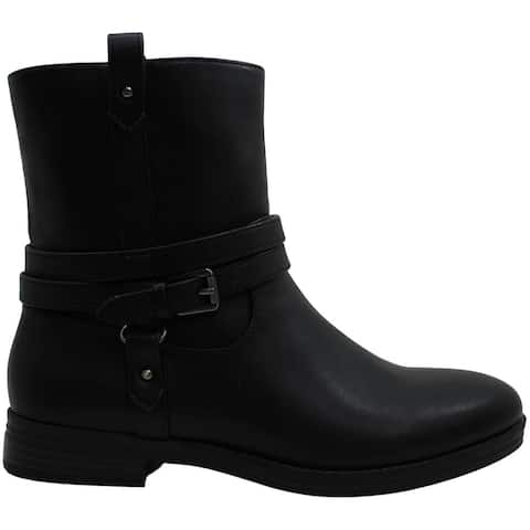 Style & Co. Womens State Faux Leather Ankle Booties