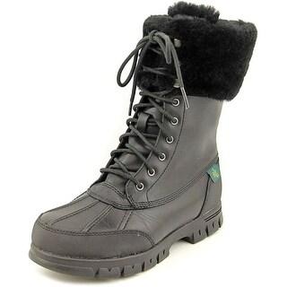 Lauren Ralph Lauren Quinta Round Toe Leather Snow Boot
