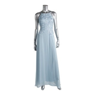 Aidan Mattox Womens Chiffon Prom Evening Dress