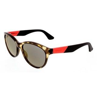 Carrera CA5011/S 8GS Camouflage Olive/Orange Wayfarer Sunglasses - 54-16-145