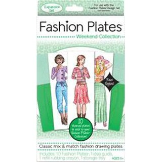 Weekend - Fashion Plates Expansion Pack