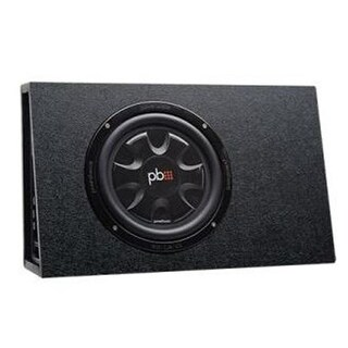 PowerBass P1T-PSWB101T 10 ft. Loaded Sealed Box