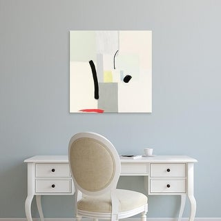 Easy Art Prints Aliza Cohen's 'Interruptions' Premium Canvas Art
