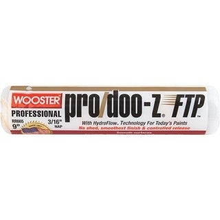 Wooster Brush 9X3/16 Ftp Roller Cover RR665-9 Unit: EACH