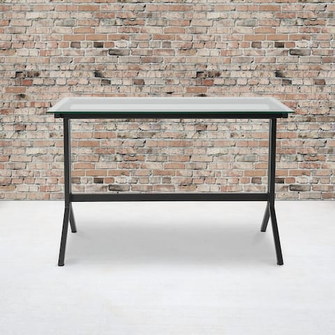 Computer Desk with Metal Frame