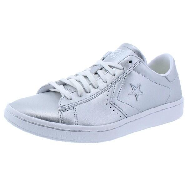 07d18d7a160 Shop Converse Womens LP Ox Fashion Sneakers Skate Metallic - 9 medium (b