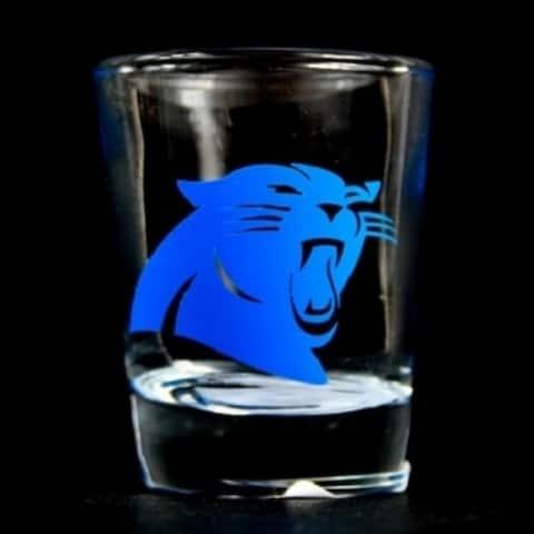 Carolina Panthers Nfl Round Shot Glass - M