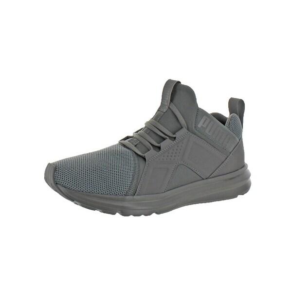 e8dfb9e00d6f12 Shop Puma Mens Enzo Mesh Running Shoes SoftFoam Fashion - Free ...