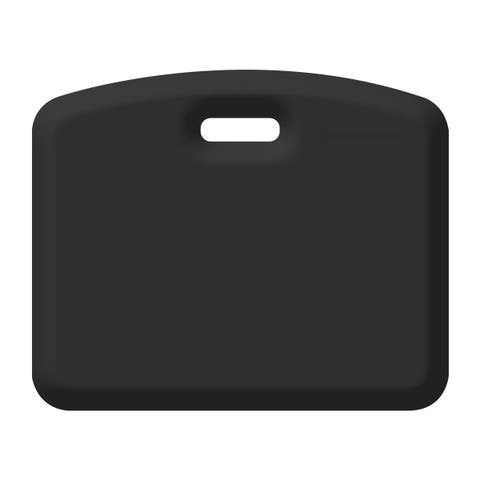 WellnessMats Anti-Fatigue Garage/Gardening Companion Mat, 18 Inch by 22 Inch, Black