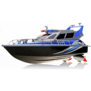 AZ IMPORT & TRADING B87F Blue RC Patrol Boat Blue