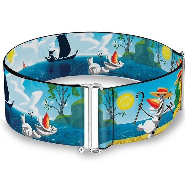 Olaf Summertime Scenes Cinch Waist Belt ONE SIZE