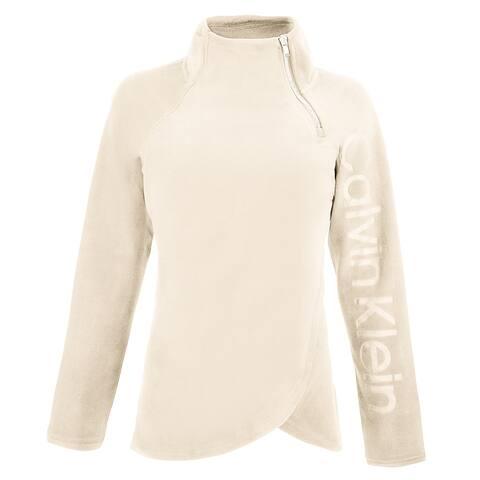 Calvin Klein Women's Twisted Fleece Pullover