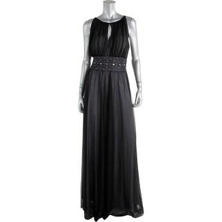 Jessica Howard Womens Embellished Lined Evening Dress