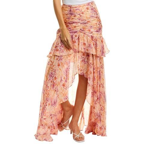 Amur Fie Silk Skirt