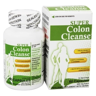 Health Plus Super Colon Cleanse Caps 60 Cap