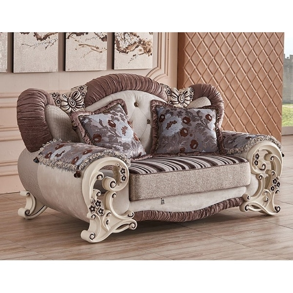 Royal Living Room Furniture. Luxury Design Royal Majestic 6 piece living room sofa set  Free