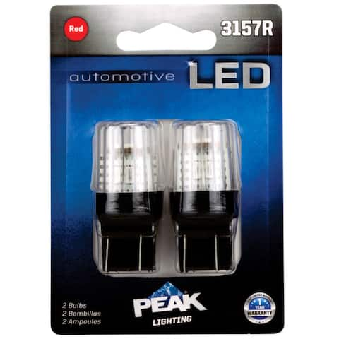 Peak 3157RLED-2BPP LED Indicator Lamps, 12.8 Volt