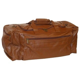 Scully Western Duffle Bag Sierra Collection Leather Zipper