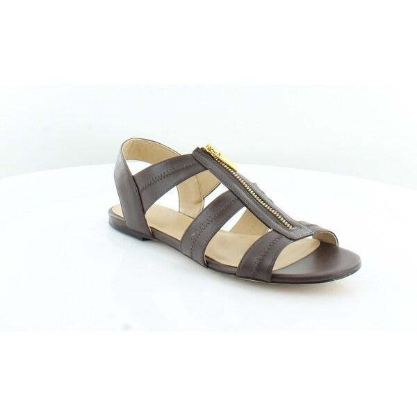 Michael Kors Berkley Flat Women's Sandals & Flip Flops Java