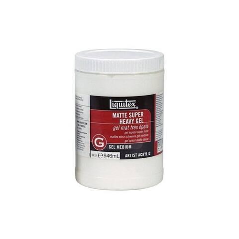 Liquitex / colart 5832 matte super heavy gel medium 32oz