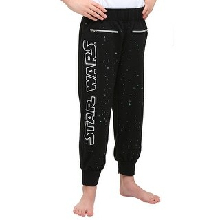 Star Wars Glitter Stars Girls Sweat Pants