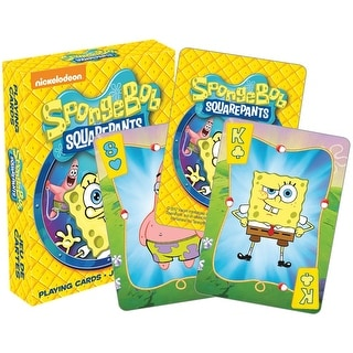 Sponge Bob Square Pants Licensed Playing Cards - Standard Poker Deck - MultiColor