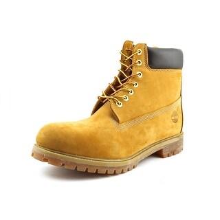 Timberland 6 in. Premium Men Round Toe Leather Tan Work Boot