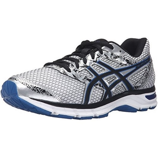 Asics Mens Gel-Excite 4, Silver/Black/Imperial