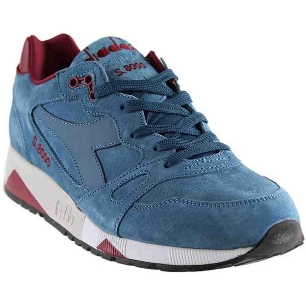 sports shoes 3d523 f7508 Shop Diadora Mens S8000 Italia Running Casual Sneakers Shoes ...